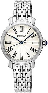 Seiko 精工 SRZ495P1 女式指针石英手表 不锈钢表链