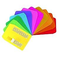 图书馆口袋,各种颜色