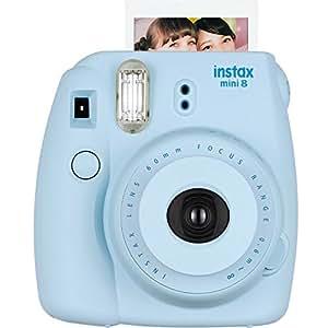 FUJIFILM富士checky趣奇instax mini8蓝色相机