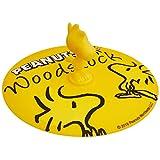 山加商店 杯罩 黄色 11cm 花生 硅酮 木制防滑罩 SN652-174