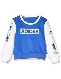 adidas Kids 阿迪达斯 女童 小童套头卫衣 LG CREWNECK