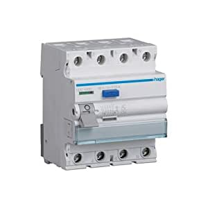 Hager CDC440D FI-断路器 4P 40A 30mA AC