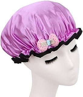 时尚设计 时尚可重复使用的淋浴帽,图案和颜色美观 儿童尺寸