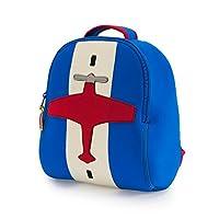 Dabbawalla Bags 幼儿园&幼儿飞机背包,蓝色/红色