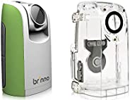 Brinno TLC200 Time Lapse 照相机带 1.44 英寸 LCD 显示屏,视频分辨率 1280 x 720 带防护罩防风雨