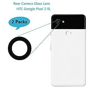 适用于 Google Pixel 2/Pixel 2 XL 后置摄像头玻璃MMX_Pixel2XL_2PCSJTG Camera Glass Lens (Pixel 2 XL)