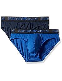 Emporio Armani 男士 Endurance 内裤,2 条装
