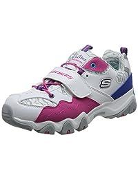 Skechers 斯凯奇 D'LITES 2.0系列 女童 时尚魔术贴休闲运动鞋 996300