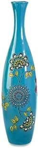 IMAX 87507 Valona Hand Painted Vase, Large
