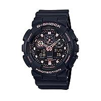 Casio 卡西欧 G  - SHOCK ga100gbx-1a4 黑玫瑰金模拟数字手表