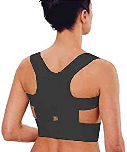 Shop Flash 女式缓解背部和腰部*的肩部支撑套,黑色,中号