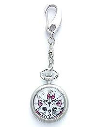 COSMIC 迪士尼 钥匙链手表 时尚猫 玛丽 1189SW15069DNMR 女孩 【正规进口商品】