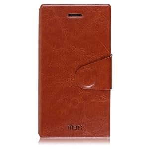 锰钢芯 诺基亚lumia 928手机皮套lumia928手机套手机壳保护套外壳 (【古典棕】+送高清膜)
