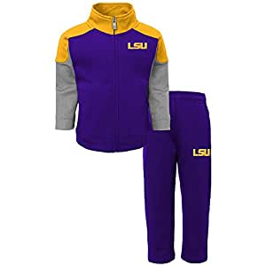 "NCAA 男孩4–30.48cm gridiron"" 抓绒裤 & 上衣套装 Regal Purple Small(4)"