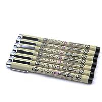 正品樱花针管笔 樱花针笔 漫画设计草图笔 绘图笔 勾线笔 7种型号可选 (樱花005 01 02 03 04 05 08各一只)