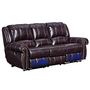 芝华仕 头等舱沙发 美式沙发防污科技布 电动可躺沙发功能沙发5529 三人位(标价仅为商品价格,如需运送/安装,请咨询客服具体费用。咨询电话:0752-5203361 QQ:648538692/微信:cgxwc0630)(亚马逊自营商品, 由供应商配送)