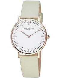 Rossling & Co. 石英男女适用手表 Classic 36mm - Pistachio - RO-005-008 (亚马逊进口直采, 加拿大品牌)