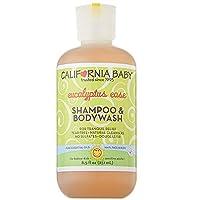 (跨境自营)(包税) California Baby 加州宝宝 桉树精华洗发沐浴露二合一251ml