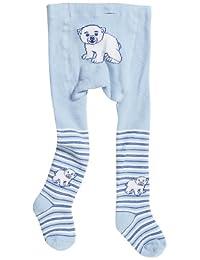 Playshoes 男童高品质冬季保暖紧身衣北极熊运动打底裤