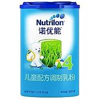 Nutrilon 诺优能 4段儿童配方调制乳粉(36-72个月) 800g(爱尔兰原装进口)