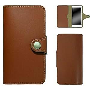 whitenuts 保护壳 手册式 软皮革WN-OD124402 3_ Galaxy S7 edge SC-02H 浅棕色
