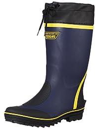 [ フジテブクロ ] 长靴工装鞋雨靴颜色靴子带盖子 E 799
