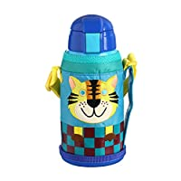 Tiger虎牌 不锈钢儿童真空杯MML-C06C-CT小老虎 630mL(吸管杯)