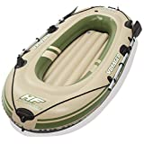 Bestway 柏威 三人加厚皮划艇 钓鱼船 充气船 橡皮艇皮筏艇冲锋舟标配(附赠船桨 不含充气泵) 65051 绿色