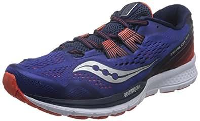 Saucony 圣康尼 TEC 男 跑步鞋 ZEALOT ISO 3 S203692717C 蓝/橙 40