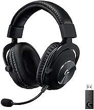 Logitech G PRO X kabelloses Lightspeed PC-kompatibles Gaming-Headset mit Blue VOICE Mikrofontechnologie, 50 mm