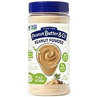 Peanut Butter & Co. - 強大的堅果粉狀花生醬亞麻和嘉 - 6.5 盎司