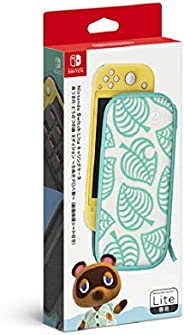 Nintendo 任天堂 SwitchLite便携包 《集合啦!动物森友会》香波图案 附屏幕保护膜