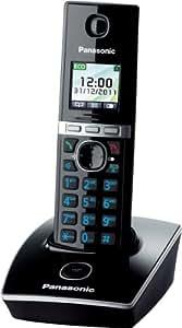 Panasonic 松下 KX-TG8051GB 无绳电话(1个移动部件) 黑色