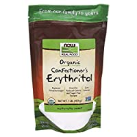 NOW Foods Organic Confectioner's Erythritol Powder,1 Pound