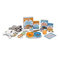 Melissa & Doug 喂食和玩耍宠物猫咪玩具套装,含 2 只毛绒玩具(26 件)