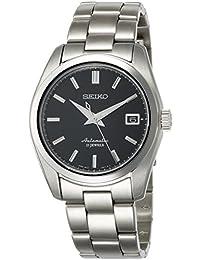 Seiko 男士日本自动不锈钢休闲手表,颜色:银色(型号:SARB033)
