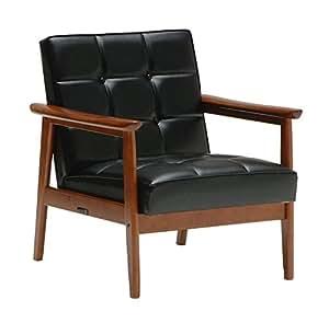 Kalamok 60 K椅子 1空间加热器 标准黑色 幅64.5×奥行70×高さ70×座高37cm W36170BWK