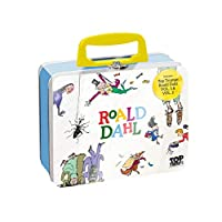 Top Trumps WM00044-EN1-6 Tin-Roald Dahl,各种