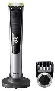 Philips 飞利浦 OneBlade Pro混合修剪器 带14-Length梳子的剃须刀(英国2针浴室插头) - Frustration-Free包装 - QP6520 / 30