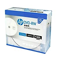 hp(hp・パッカード) 録画用DVD-RW(スリムケース) 10枚