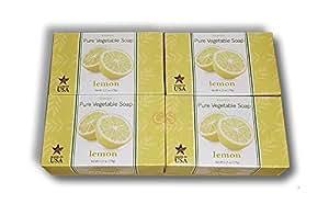 Venezia Soapworks Pure Vegetable Soap, Lemon Verbena, 7 Oz (Pack of 4)