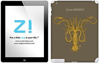 Zing Revolution Game of Thrones Premium Vinyl Adhesive Skin for iPad 2/iPad 4, Greyjoy S2 Image, MS-GOT90351