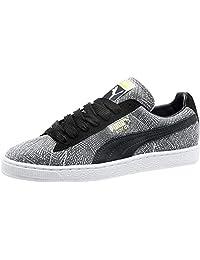 PUMA 男士 Mis-Match 麂皮及踝时尚运动鞋