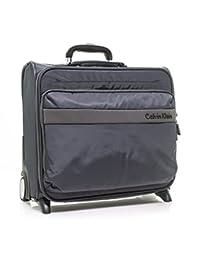 Calvin Klein Flatiron 3.0 轮式飞行员箱滚边旅行包