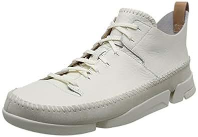 Clarks Originals Men's Trigenic Flex Low-Top Sneakers White (White) 12 UK