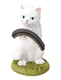 饰品支架 猫 白猫 手表支架 收纳 可爱 猫 世纪工艺