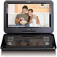 Lenco 便携式DVD播放器 DVP-1273 11.6 英寸(29 厘米)DVB-T2,12V 车载适配器,USB,SD,AV,耳机插孔