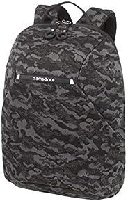 Samsonite 新秀麗 Neoknit 筆記本電腦背包 14英寸(42厘米 - 16升) Camo Black 14 Zoll (42 cm - 16 L)