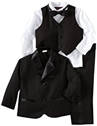 Joey Couture Little Boys' Little Tuxedo No Tail Suit