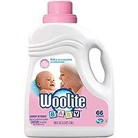 Woolite 婴儿洗衣液,66 缸,低过敏性液体洗涤剂,适用于高效和标准机洗、手洗